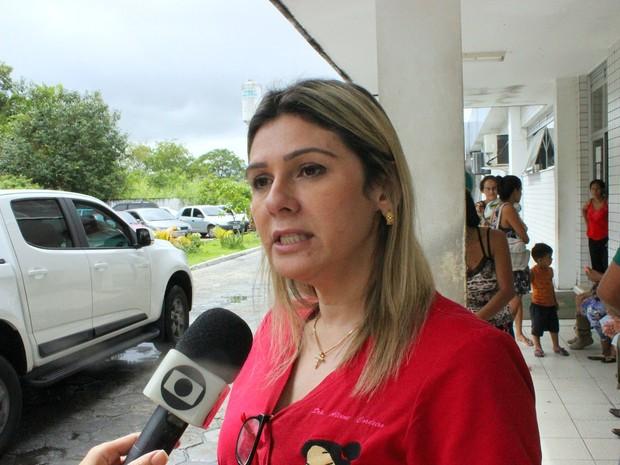 Pediatra Aline Coelho Cordeiro. (Foto: Ive Rylo/G1 AM)