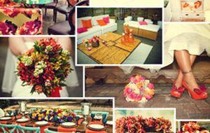 Casamento na cor laranja: veja combinações e inspire-se