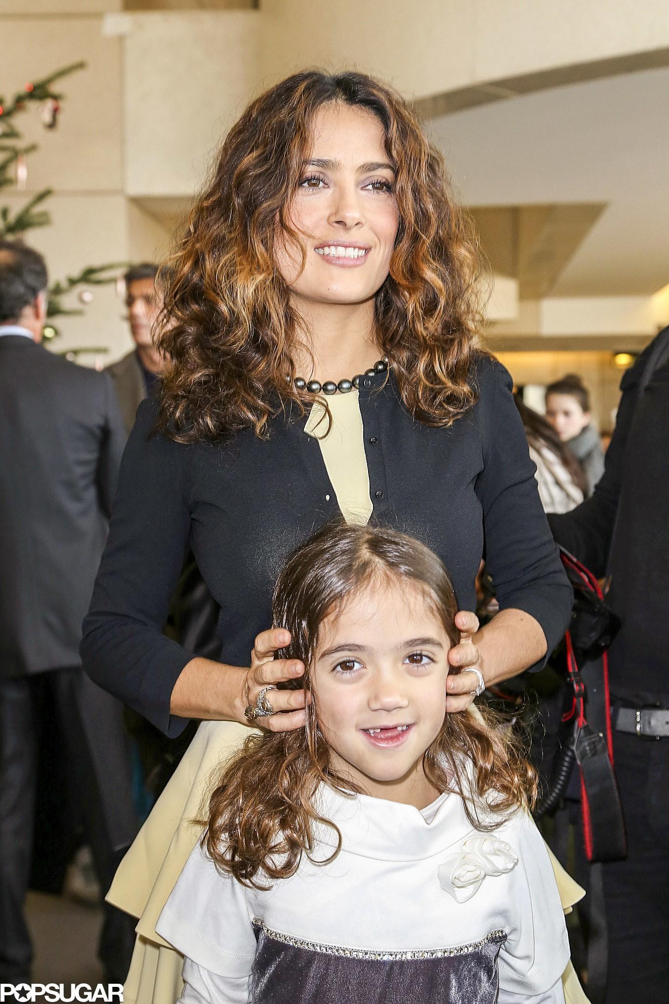 Salma Hayek e sua filha Valentina (Foto: Divulgação)
