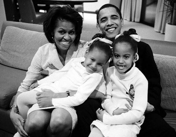Família Obama (Foto: Reprodução Instagram)