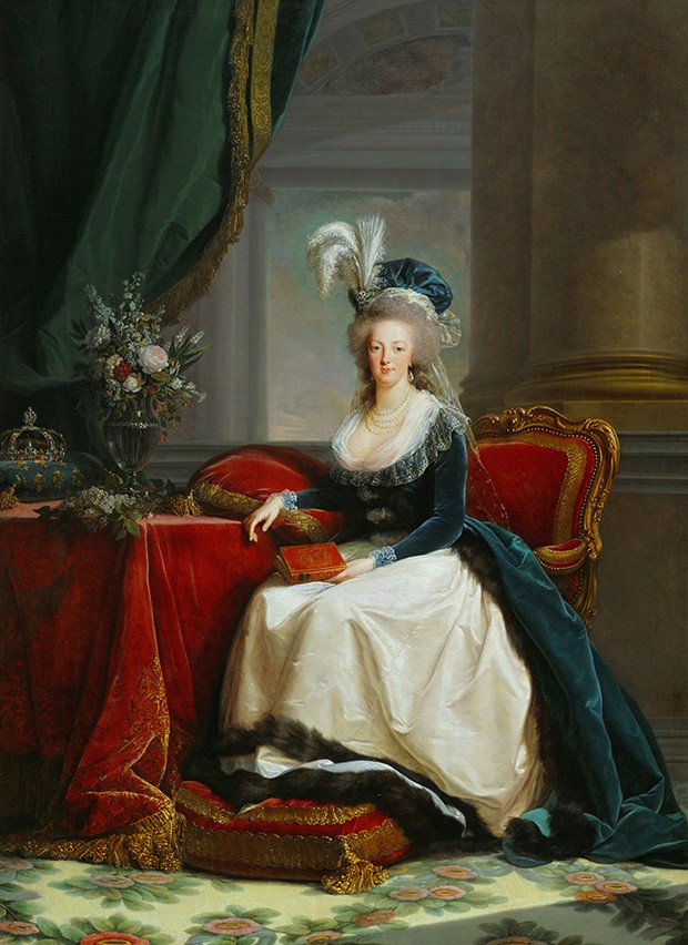 Detail of a portrait of Marie-Antoinette, by Elisabeth Louise Vigée Le Brun (1788) (Foto: GETTY)