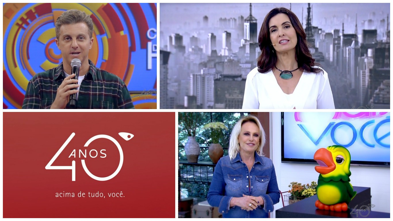 Personalidades da Globo parabenizam a TV Gazeta (Foto: Divulgação/ TV Gazeta)