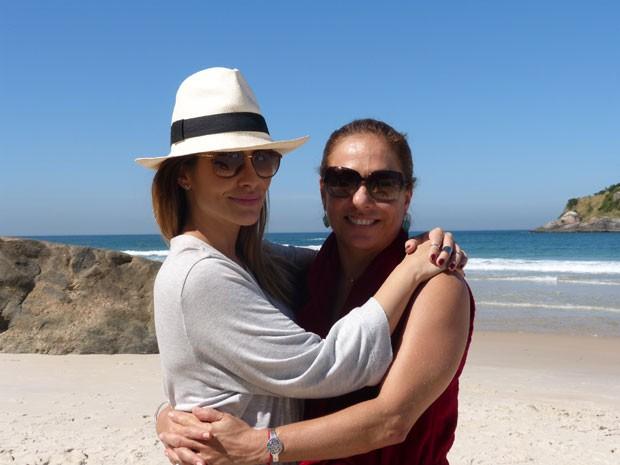 Cleo e Cissa se despedem de suas personagens  (Foto: Salve Jorge/TV Globo)