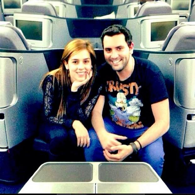 Sophia Abrahão e Felipe Carauta (Foto: Reprodução/Instagram)