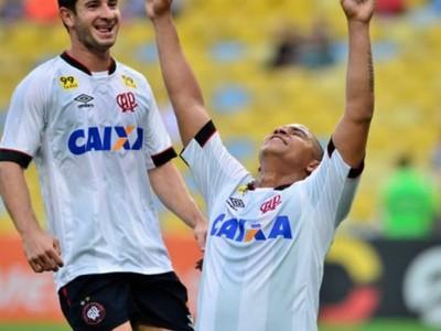 walter fluminense x atlético-pr brasileiro (Foto: Gustavo Oliveira/Atlético-PR)