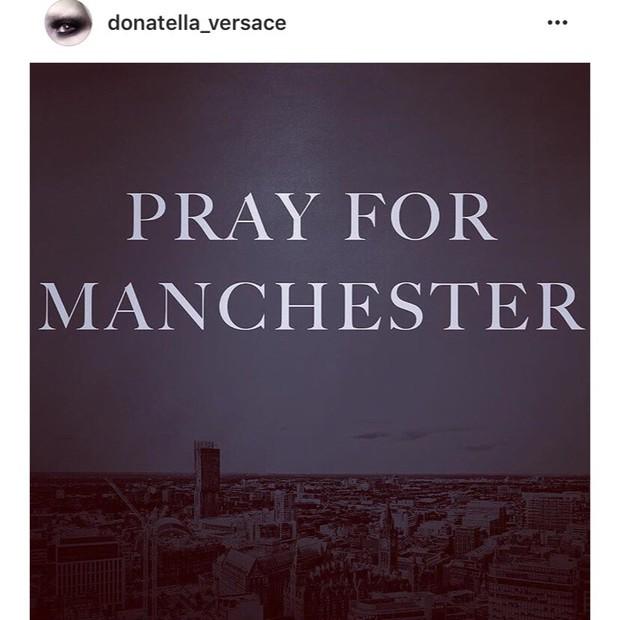 Donatella Versace (Foto: Instagram/Reprodução)