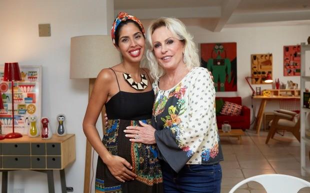 Ana Maria Braga no Bela Cozinha  (Foto: Juliana Coutinho)