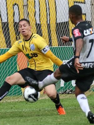 URT x Atlético-MG, em Patos de Minas (Foto: Bruno Cantini / Atlético-MG)