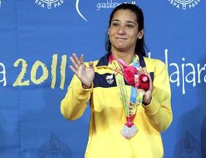 natação Joanna Maranhão 400m medley (Foto: Satiro Sodré / AGIF)