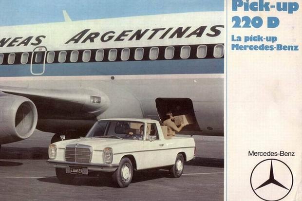 Picape 220D era usada em serviços diversos, incluindo as Aerolíneas Argentinas (Foto: Divulgação)