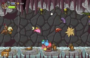 Jogadores podem usar diversas armas e habilidades em 'Gryphon Knight' (Foto: Divulgação/Cyber Rhino)