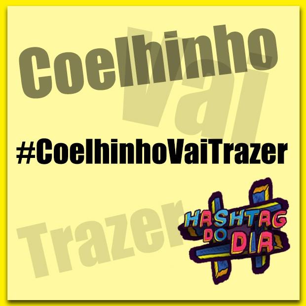 #HashtagDoDia: Coelhinho Vai Trazer... (Foto: Malhação / TV Globo)