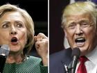 Hillary tem 11 pontos de vantagem sobre Trump, diz pesquisa