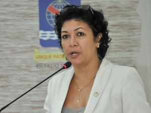 Eliane Sinhasique, vereadora de Rio Branco (Foto: Victor Augusto/Divulgação Câmara de Vereadores)