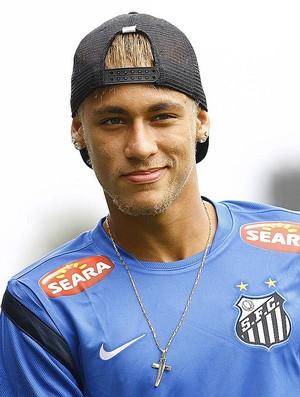 Neymar Santos (Foto: Ricardo Saibun/Divulgação Santos FC)