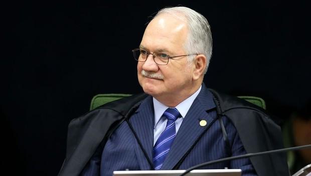 O ministro do STF Edson Fachin em sua primeira sessão na Segunda Turma do STF (Foto: Marcelo Camargo/Agência Brasil)