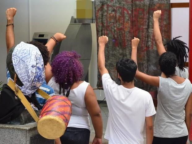 Os estudantes desocuparam a reitoria após 7 dias de protesto (Foto: Facebook/ Estudantes em Luta por Direito à Permanência)