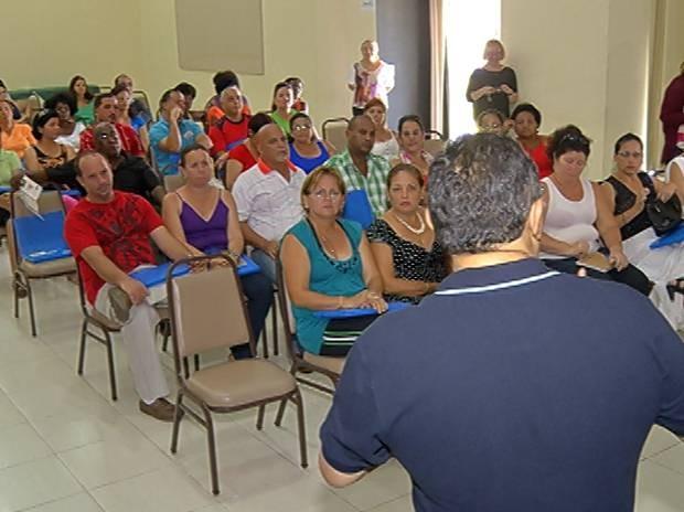 Curso ocorreu em Mosqueiro, distrito de Belém. (Foto: Reprodução / TV Liberal)