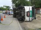 Bebê ferida em acidente na rodovia BR-104 continua internada do HGE