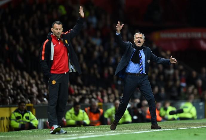 Ryan Giggs José Mourinho (Foto: Getty Images)