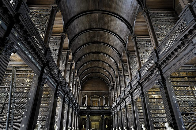 Biblioteca Trinity College (Foto: Flickr/Fred Bigio)