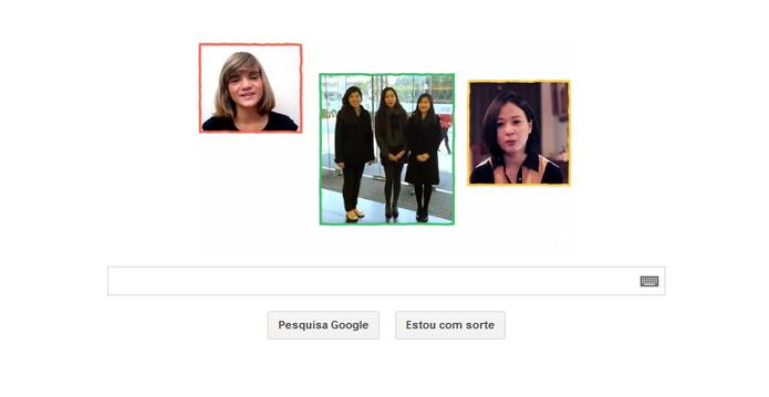 Isadora Faber também aparece entre as cem mulheres do Doodle do Google (Foto: Reprodução/Google)