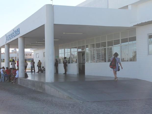 Hospital Universitário atende cerca de 53 muinicípios (Foto: Taisa Alencar / G1)