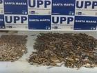 UPP apreende drogas e munição na favela Santa Marta, Zona Sul do Rio