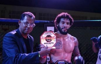 """Weber """"Shrek"""" vence Thiago Furtado na luta principal do Strike Fight 1 MMA"""