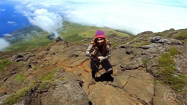 Globo Play: reveja escalada em montanha vulcânica (Divulgação)