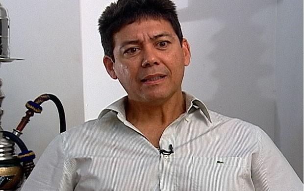 Heron Ferreira Al Ahli Líbia (Foto: TV Globo)