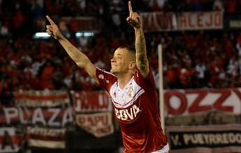 D'Alessandro marca, River Plate vence e volta a se aproximar da ponta