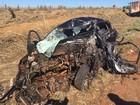 Jovem morre após carro bater de frente com caminhão na TO-080