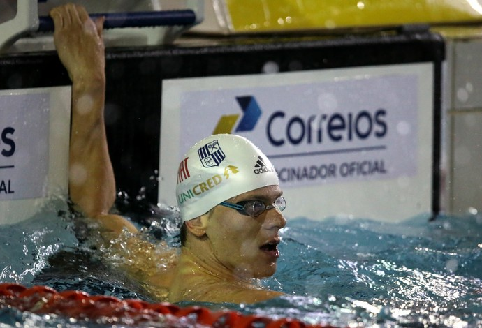 Cesar Cielo Torneio Open seletiva olímpica (Foto: Satiro Sodré / SSPress)