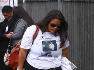 julgamento Bola caso Bruno filha (Foto: Maurício Vieira/ G1)