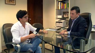Estevan e Dison Profissão Repórter (Foto: Reprodução: TV Globo)