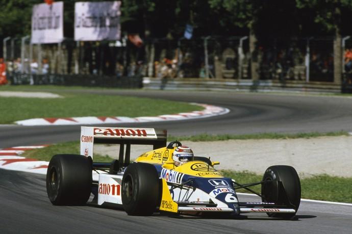 Nelson Piquet foi tricampeão da Fórmula 1 em 1987 (Foto: Divulgação / Williams)