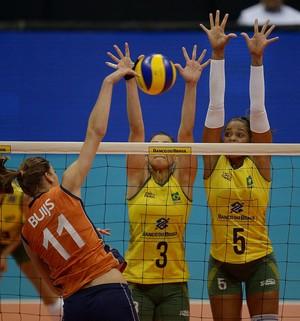 Brasil x Holanda Copa Rio Internacional de Vôlei Feminino (Foto: Divulgação / CBV)