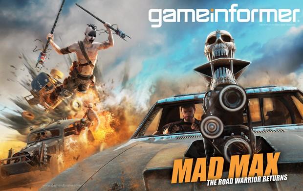 Capa da revista 'Game Informer' sobre game de ação 'Mad Max' (Foto: Divulgação/Game Informer)