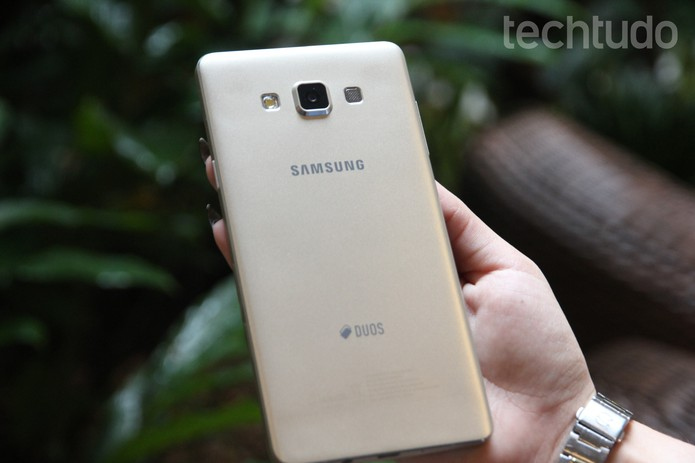 Galaxy A7 (Foto: Carolina Ochsendorf/TechTudo)