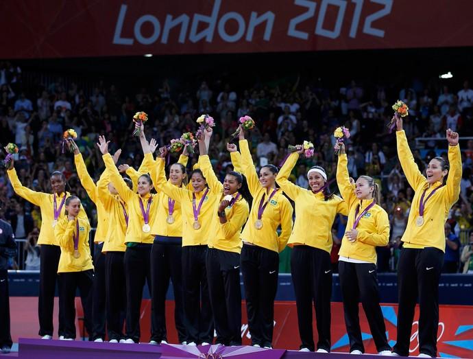 medalha de ouro vôlei feminino Olimpíadas 2012 (Foto: Reuters)