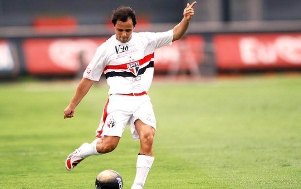 Felipe Massa jogo camisa São Paulo arquivo (Foto: Marcos Ribolli / Globoesporte.com)