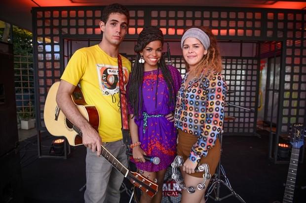Jean Amorim, Jeniffer Nascimento e Daniela Dillan (Foto: Globo/Alex Carvalho)
