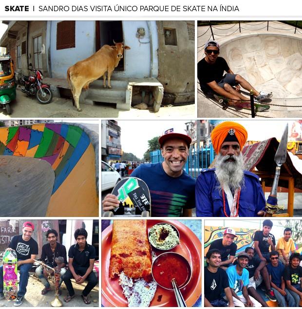 galeria nova Sandro Dias parque de skate Índia 2 (Foto: Editoria de Arte / Globoesporte.com)