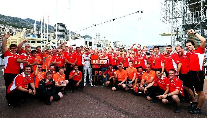 Marussia Jules Bianchi