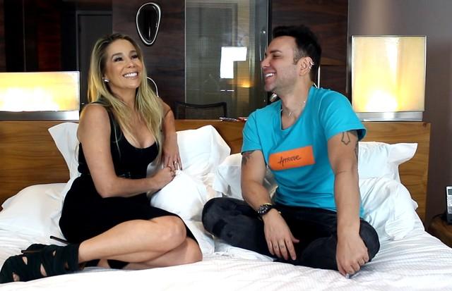 Matheus Mazzafera e Danielle Winits (Foto: reprodução)
