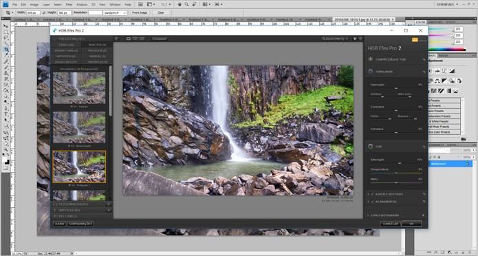 Usuários do Photoshop, a partir da versão CS4, podem usar o Nik para edição e correção de cor (Foto: Reprodução/Filipe Garrett)