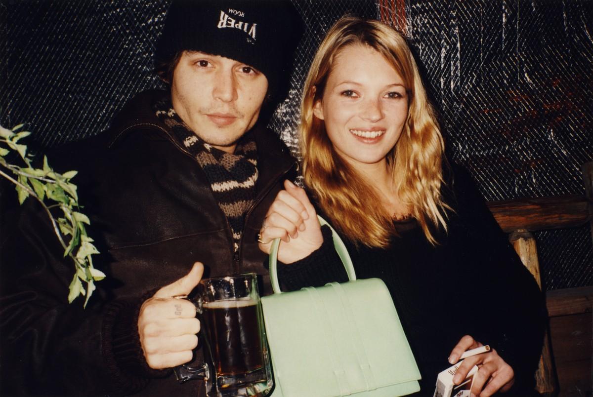 Johnny Depp e Kate Moss. (Foto: Divulgação)