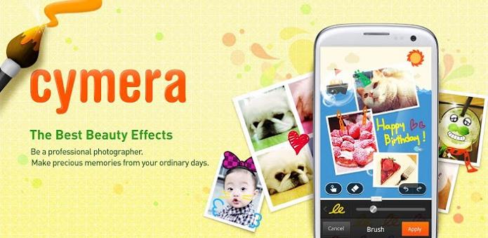 Cymera é um editor de fotos completo para Android (Foto: Divulgação)