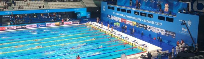 Mundial de Budapeste - finais da natação - dia 5 (Foto: Guilherme Costa)